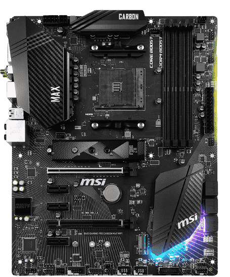 MSI B450 Gaming PRO Carbon A